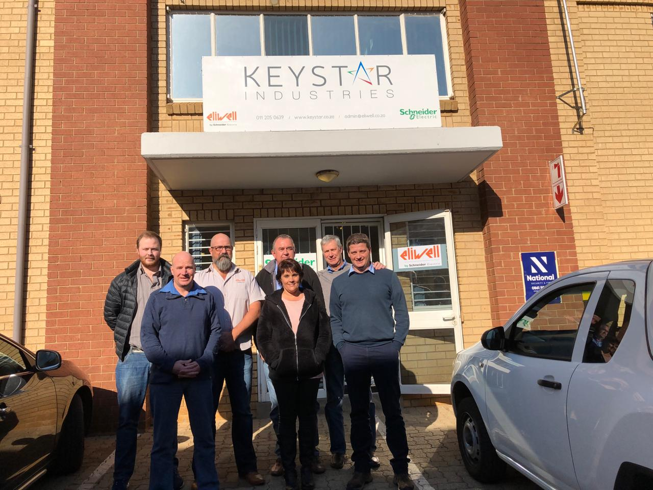New office and warehouse for Keystar Johannesburg
